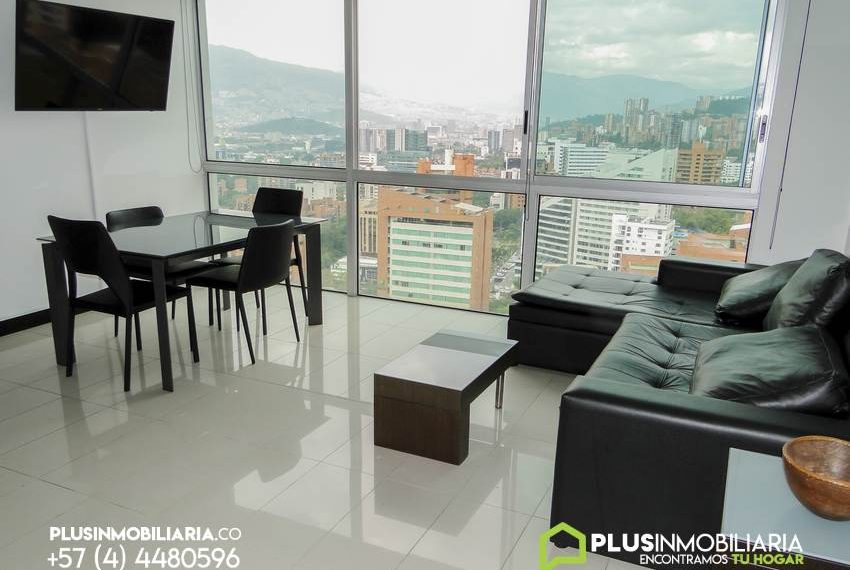 Apartamento Amoblado en El Poblado | Milla de Oro | A339