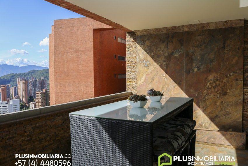 Apartamento Amoblado en El Poblado | El Tesoro | A315