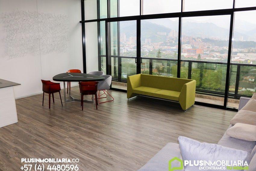 Apartamento Amoblado   El Poblado   Square   A348