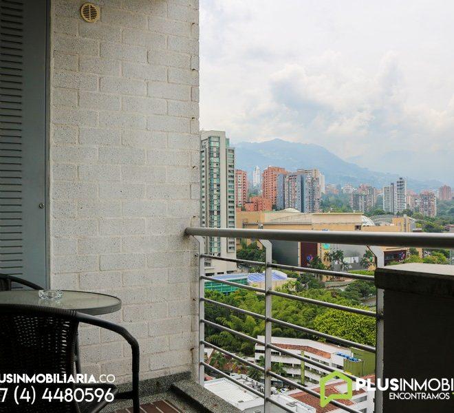 Apartamento Amoblado en Alquiler El Poblado, A389 (2)